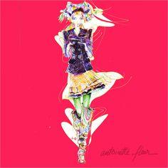 Antoinette-Fleur : illustration | Caroline Maréchal