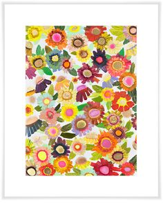 Blooms, Floral Art Prints | GreenBox