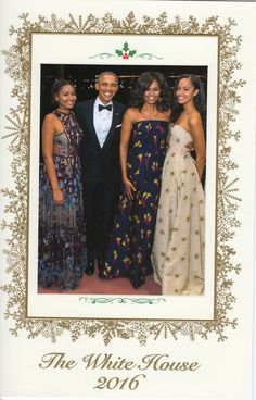 - Obamas Send Out Their Last Christmas Card From The White House | The Huffington Post