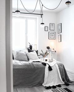 Home Interior Salas .Home Interior Salas Diy Home Decor Bedroom, Room Ideas Bedroom, Scandinavian Bedroom, Small Room Bedroom, Ikea Bedroom, Small Rooms, Bedroom Furniture, Room Interior, Interior Design