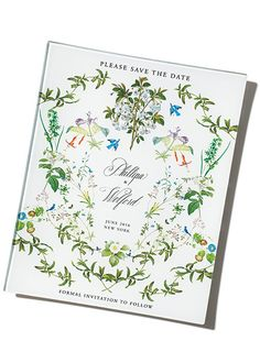 Brides: Wedding Keepsake Idea: Decoupaged class tray with artwork by Stephanie Fishwick