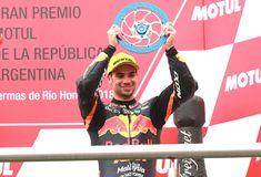 Miguel Oliveira consegue primeiro pódio da temporada na Argentina - Miguel Oliveira - Official Website Motogp, Biker Gear, Portugal, Racing, Olive Tree, The World, Seasons, Argentina, Circuit