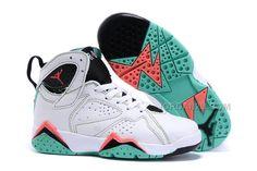premium selection 8528a cbbfa 2016 Newest Releases Air Jordan 7 Retro GG Verde White Black Verde Infrared  23 Kids Shoes
