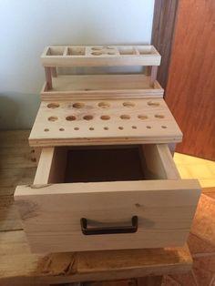 Naked wood custom Vape storage Chest.