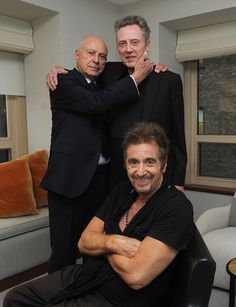 Pacino, Walken and Arkin: Three stand up guys in a one-act play in an empty noir city at night