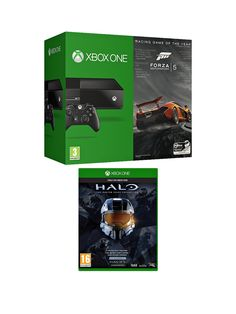 Xbox One Console with Forza 5 Download, Halo: The Master Chief Collection and Optional 3 or 12 Months Xbox Live | isme.com