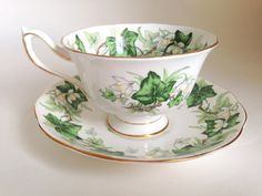 Ivy Lea Royal Albert Tea Cup and Saucer Ivy Tea by AprilsLuxuries