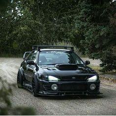 #Blacked out #Subaru
