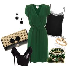 Young Professional on St. Patrick's Day, created by alanad23 on Polyvore