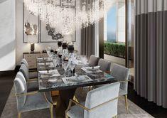 Dining Room, St James Penthouse - Morpheus London