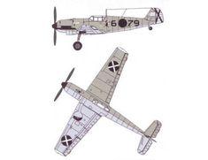 WWII Messerschmitt Bf 109D Fighter Free Aircraft Paper Model Download…