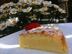 gâteau magique au citron  http://lacuisinedagnes.com
