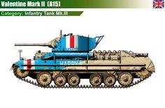 Infantry Tank Mk.III Valentine Mk.II