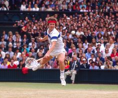 John McEnroe, 1977.