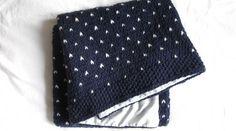 Couverture pour bébé au tricot