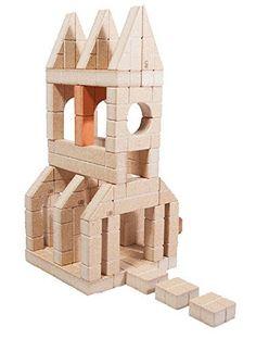 72 Piece Mini Unit Bricks Architect Set - (Wood Building / Stacking Blocks - Toy for Kids & Children 3 Years & Up) Baby Building Blocks, Stacking Blocks, Christmas Toys, Wooden Blocks, Wood Toys, Antique Toys, Kids Toys, The Unit, Bricks