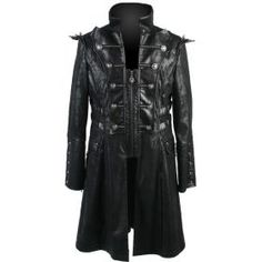Stylish and elegant, this half-length men's coat by goth clothing brand Punk Rave is the perfect outerwear for the dark gentleman of today. Steampunk Clothing, Steampunk Fashion, Gothic Fashion, Gothic Clothing, Men's Fashion, Best Clothing Brands, Don Juan, Punk Rave, Men's Coats And Jackets