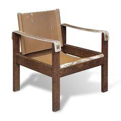 Poltrona D / D Armchair. Design by Karl Heinz Bergmiller, 1960's