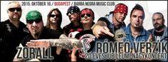 A Zoralllal és a Black Jackkel ünnepel a Rómeó Vérzik - Barba Negra Music Club (2015.10.10.)