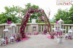 Объединение Вашей мечты: Свадебные арки | Блог LoraShen