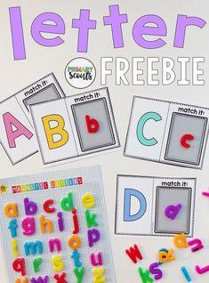 Letter Matching Freebie