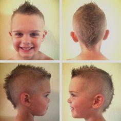 Cool kids & boys mohawk haircut hairstyle ideas 1