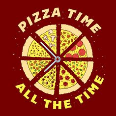 Who doesn't love pizza? I decided it was time for another on going personal project, and what could be a better subject than everyones favourite guilty pleasure PIZZA. I am making all of these prints available on my online store with international ship… Pizza Sign, Pizza Art, Pizza Pizza, Pizza Meme, Slice Pizza, Pizza Cheese, Veggie Pizza, Comida Pizza, Pizza Quotes