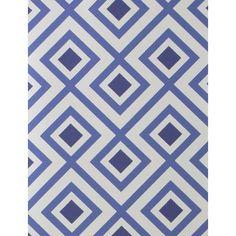 La Fiorentina Wallpaper ($115) ❤ liked on Polyvore featuring home, home decor, wallpaper, geometric pattern wallpaper, pattern wallpaper, blue pattern wallpaper, la fiorentina and diamond wallpaper
