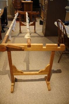 How to build a heavy-duty quilting frame. Kit with moving parts ... : quilt frame plans - Adamdwight.com