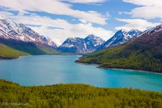 Another picture of Lake Eklutna outside of Anchorage.  This is linked to some amazing photos taken in Alaska.