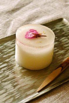 Photo: Japanese Cherry Blossom Jelly   Sakura Kanten 桜寒天 ♥ Japanese Dessert