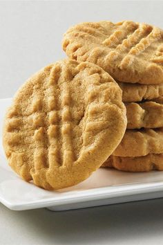 This super-easy peanut butter cookie recipe is a quick and simple cookie recipe! This homemade cookie recipe uses just three ingredients: peanut butter, sugar, and an egg. You will love baking these delicious cookies when you're in a rush, and your family will love eating them for dessert!