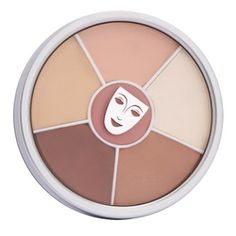 Kryolan Concealer Wheel (high pigment to cover blemishes with very little product) Makeup Kit, Hair Makeup, Concealer For Dark Circles, Ben Nye, Best Concealer, Eyeshadow, Make Up, Skin Care, Palette