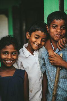 India. Beautiful, simple children
