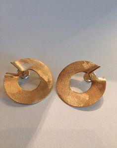 Orecchini Cerchi.  Circle Earrings di mariagabrielaGO su Etsy