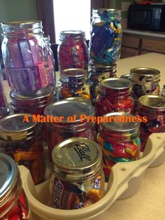 Vacume Canning, Preserving Chocolate