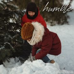 "During the holidays, we often talk about childhood memories… And some of us try earnestly to celebrate the season with a childlike sense of wonder. ⠀ Jesus reminds us that we must ""become like children [trusting, #humble, and forgiving]"" to enter the kingdom of heaven."" (Matt 18:3 AMP) ⠀ Lord, teach us to be children again -- Your children -- humble, trusting, and tenderhearted.  ⠀ #AdventWord #advent #humble [photo credit: Vika Fleisher]"