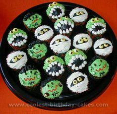 Mummies and Monsters Cupcakes / Halloween