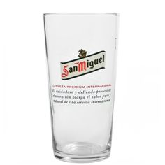 Pint Glass, American, Cl, Products, San Miguel, Ale, Sevilla Spain, Beer Glassware, Gadget