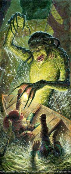 Aquatic Troll by CHRISTOPHER BURDETT