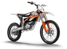 KTM Freeride E, €10,000 electric dirt bike - first proper electric motorcycle to be announced by an OEM (limited production run of 100 units in 2012)