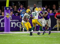 Game Photos: Packers at Vikings