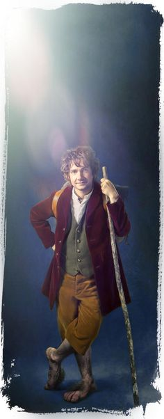 The Hobbit Fan Art Hobbit Bilbo Baggins by Gianfranco Gallo
