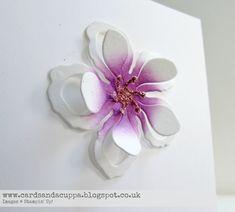 "Sarah-Jane Rae cardsandacuppa: Stampin' Up! UK Order Online 24/7: CAS ""Aloha"" Hawaiian Style Flowers using the Botanical Builder Dies by Stampin' Up!"