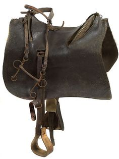 Outstanding example of custom model of McClellan Style Saddle and Cover belonging to 1st Lt. Josiah M. Hubbard of the 11th Kansas Cavalry.