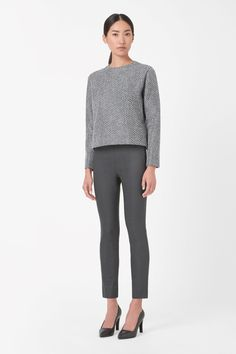 COS | Coated skinny fit trousers
