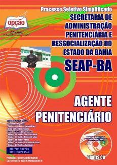 Apostila Processo Seletivo Simplificado Secretaria de Administração Penitenciária e Ressocialização do Estado da Bahia - SEAP / BA - 2014: - Cargo: Agente Penitenciário