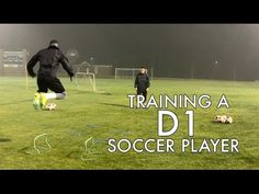 Working with a Division 1 soccer player on speed and agility, touch and passing, and finishing. This is training in the offseason in preparation for the spri. Soccer Drills, Soccer Players, Youth Soccer, Soccer Training, D1, Coaching, Youtube, Sports, Soccer Workouts