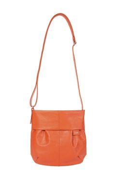 Frauentaschen :: MADEMOISELLE :: M5 | ZWEI Taschen Handtasche :: orange :: lederfrei