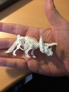 visit www.makeCNC.com to purchase this pattern Mini Triceratops